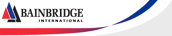 Bainbridge International logo and link