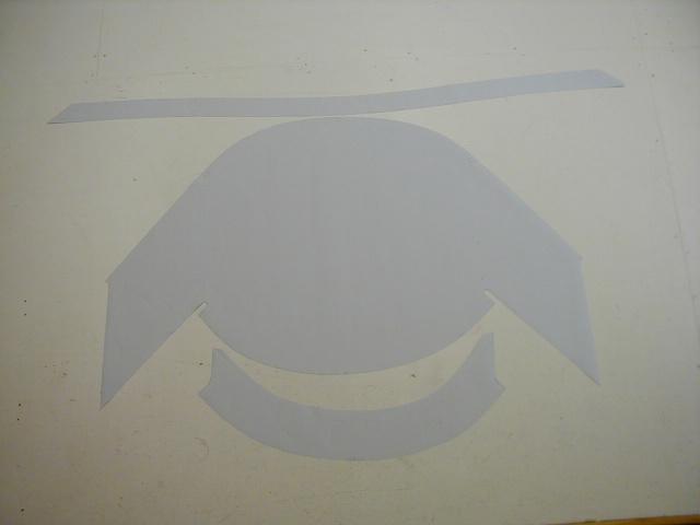 Dodger pattern gallery cut flat