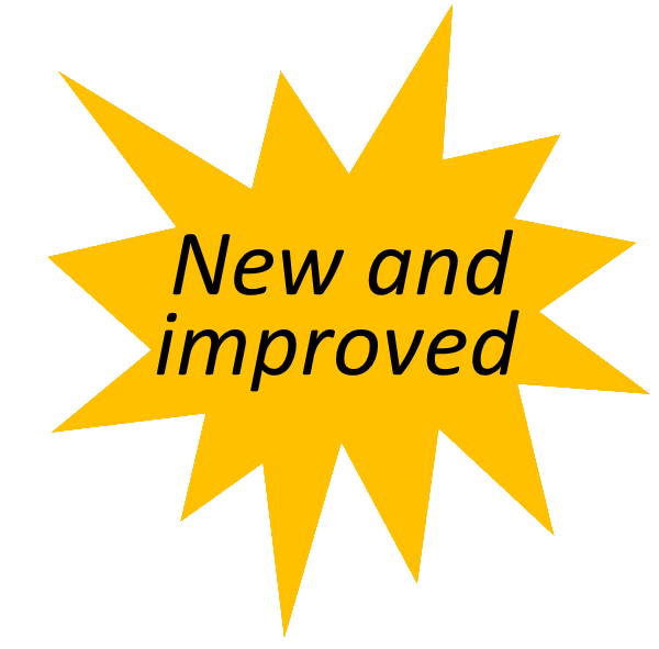 New and improved star logo