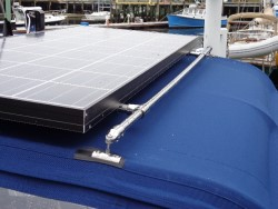 Solar panel mounts 1 solar panel