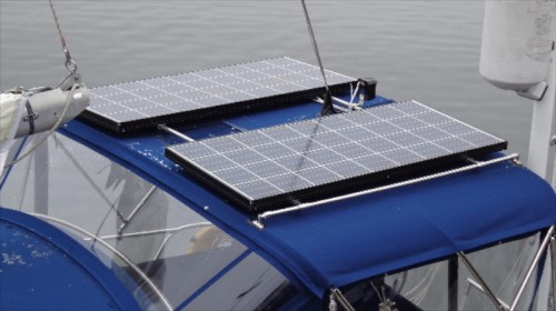 Solar panel mounts 2 solar panel
