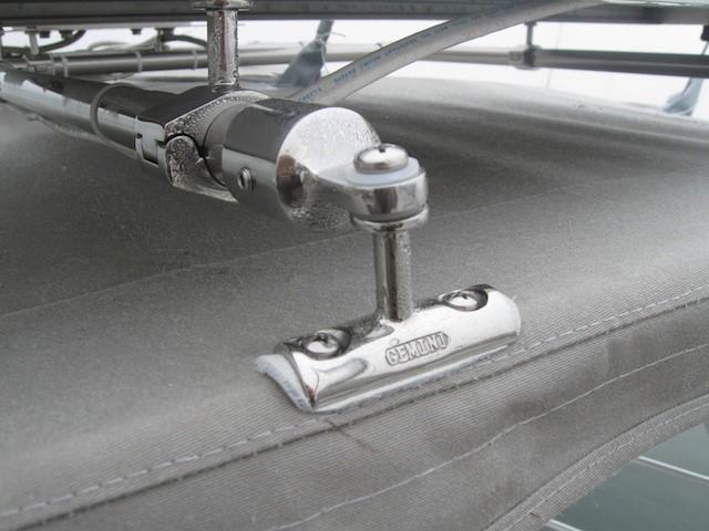 Concave rail mounts 2 rail mounts